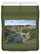 Knaresborough Yorkshire Duvet Cover