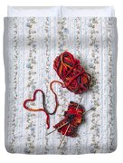 Knitted With Love Duvet Cover