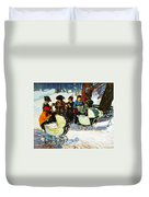 Knitware Soldiers Duvet Cover