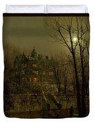 Knostrop Old Hall, Leeds, 1883 Duvet Cover