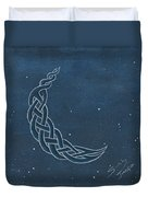 The Knotty Moon Duvet Cover