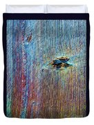 Knotty Plank #1b Duvet Cover