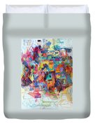 Know That This Is The Purpose Of The Creation To Deepen Knowledge And Thought On The Service Of G-d Duvet Cover
