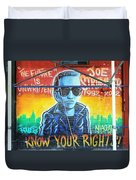 Know Your Rights Duvet Cover