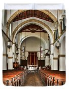 Knowles Memorial Chapel Rollins College 2 By Diana Sainz Duvet Cover