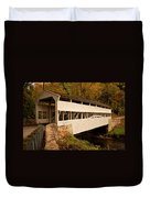 Knox Bridge In Autumn Duvet Cover