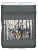 Knoxville Wolves Duvet Cover