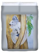 Koala Still Life Duvet Cover