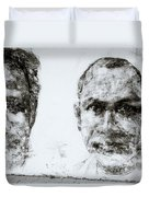 Men Of Cochin Duvet Cover