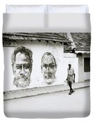 Kochi Urban Art Duvet Cover