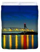 Kodachrome Bridge Duvet Cover
