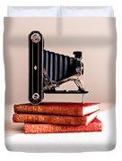 Kodak Art Deco 620 Camera Duvet Cover