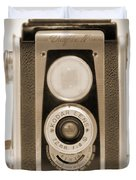 Kodak Duaflex Iv Camera Duvet Cover