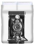 Kodak No. 2 Folding Autographic Brownie Camera Duvet Cover