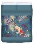 Koi 1 Pond Series Duvet Cover