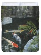 Koi Fish Duvet Cover