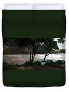 Koki Beach Hana Maui Hawaii Duvet Cover