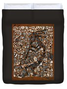 Kokopelli Duvet Cover by Jerry McElroy