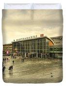 Koln Hauptbahnhof  Duvet Cover