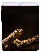 Komodo Dragon Poising Duvet Cover
