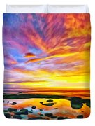 Kona Tidepool Reflections Duvet Cover
