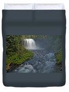Koosah Falls Duvet Cover