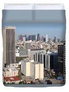 Koreatown Area Of Los Angeles California Duvet Cover