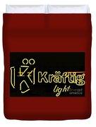 Kraftig Light 1 Duvet Cover