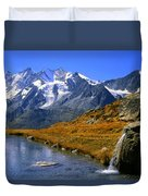 Kreuzboden Lake Duvet Cover
