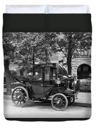 Krieger Electric Carriage Duvet Cover
