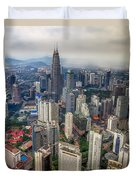 Kuala Lumpur City Duvet Cover