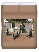 Kunta Kinte Memorial - Alex Haley Foundation Duvet Cover