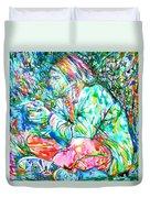 Kurt Cobain Portrait.10 Duvet Cover