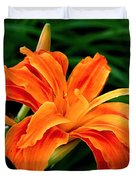 Kwanso Lily Duvet Cover