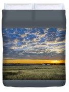 Kyle Barn Sunrise Duvet Cover
