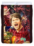 Kyle Hollingsworth At Hornin'gs Hideout Duvet Cover