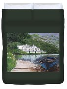Kylemore Abbey Duvet Cover