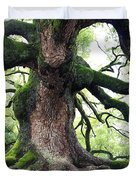 Kyoto Temple Tree Duvet Cover