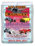 L C Rodrunner Car Show Poster Duvet Cover