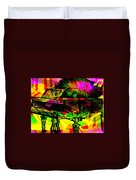 Mood Changing Medicine Power Of Music Duvet Cover