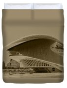 L' Hemisferic - Valencia Duvet Cover by Juergen Weiss