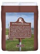 La-033 Donaldsonville Duvet Cover