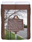La-040 Jefferson Parish Duvet Cover