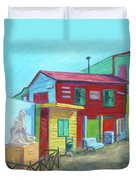 La Boca Morning I Duvet Cover
