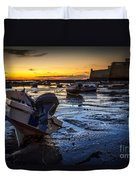 La Caleta Beach Cadiz Spain Duvet Cover