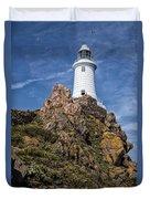 La Corbiere Lighthouse Duvet Cover