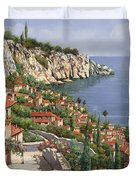 La Costa Duvet Cover by Guido Borelli