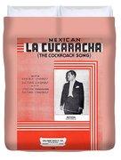 La Cucaracha Duvet Cover