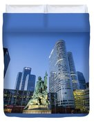 La Defense Memorial Duvet Cover