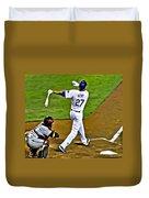 La Dodgers Matt Kemp Duvet Cover